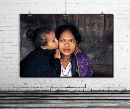 obraz-na-ścianie-kobieta-z-indonezji
